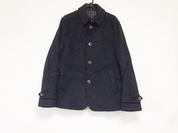 MEN'SBIGI(メンズビギ) コート サイズ03 L メンズ 黒 冬物