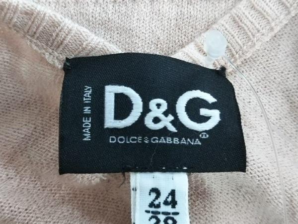 D&G(ディーアンドジー) 長袖カットソー サイズ2438 レディース ピンク