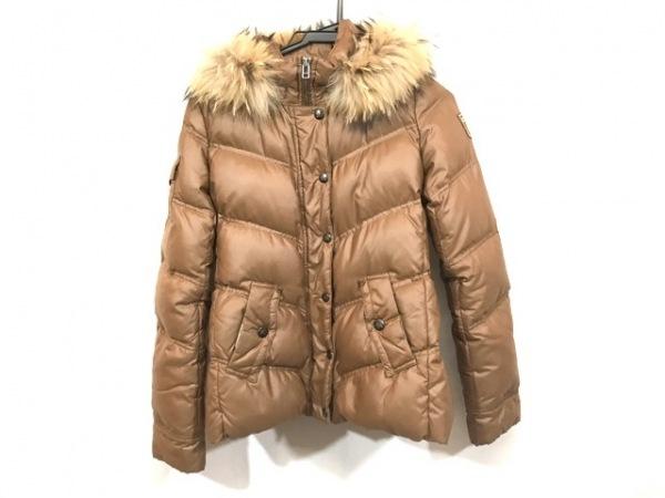 バーバリーブルーレーベル ダウンジャケット サイズ38 M レディース ブラウン 冬物