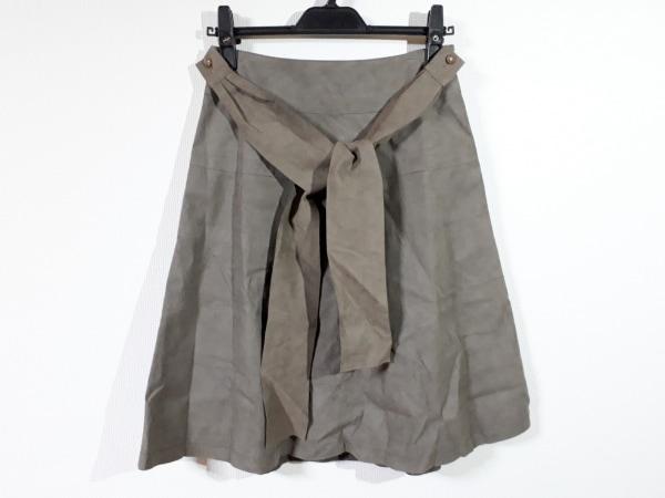 TO BE CHIC(トゥービーシック) スカート サイズ38 M レディース美品  ダークブラウン