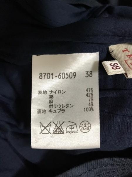 TRUSSARDI(トラサルディー) ワンピース サイズ38 S レディース美品  ネイビー