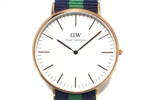 Daniel Wellington(ダニエルウェリントン) 腕時計 - レディース 白