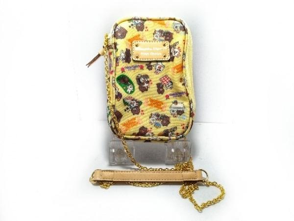 サマンサタバサプチチョイス 携帯電話ケース美品  イエロー