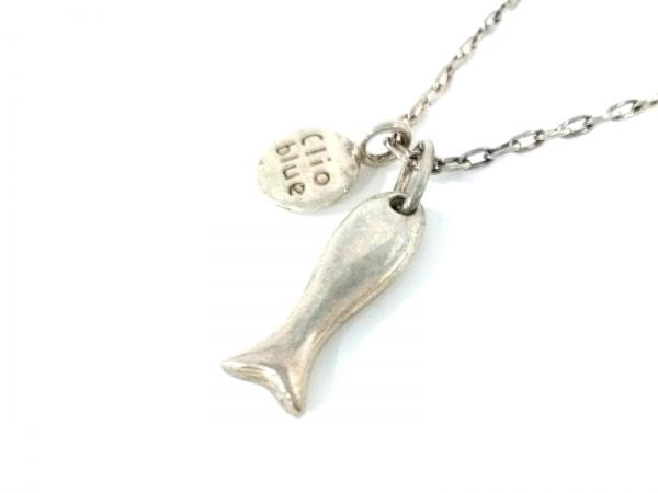 Clioblue(クリオブルー) ネックレス シルバー 魚