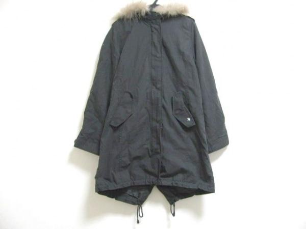 ARNOLD PALMER(アーノルドパーマー) コート サイズ1 S レディース 黒 冬物