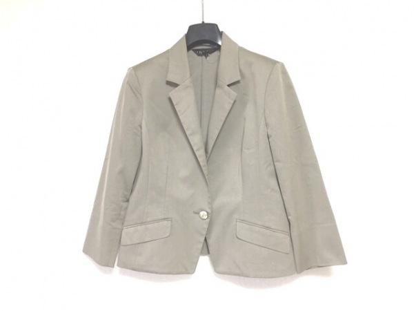 INDIVI(インディビ) ジャケット サイズ44 L レディース グレー