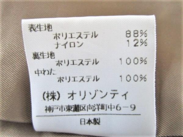 インタープラネット コート サイズ38 M レディース ライトブラウン 春・秋物/中綿