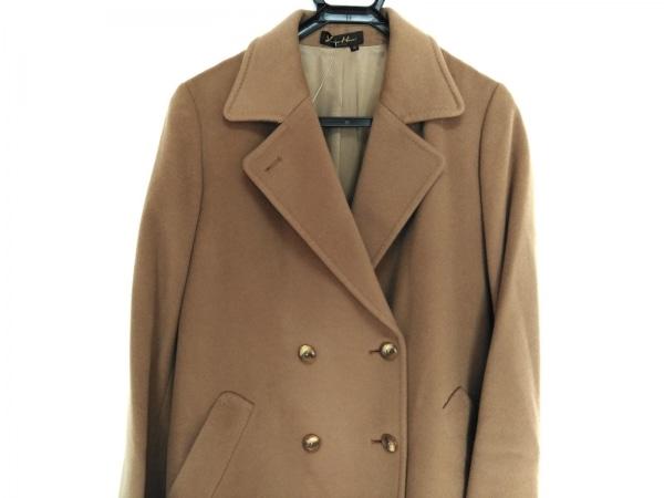YUKIKO HANAI(ユキコハナイ) コート サイズ10 L レディース ブラウン 冬物