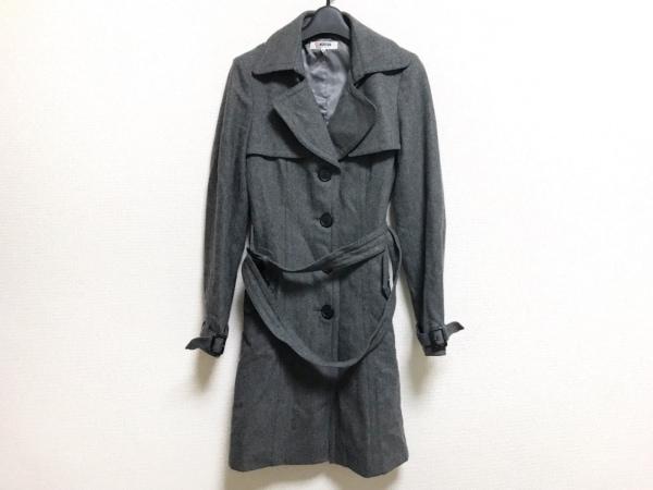 MORGAN DE TOI(モルガン) コート サイズ38 M レディース美品  ダークグレー 冬物