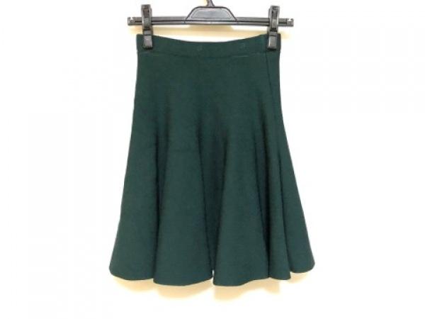 LE CIEL BLEU(ルシェルブルー) スカート サイズF レディース グリーン ニット