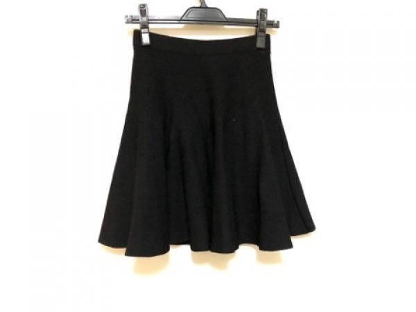 LE CIEL BLEU(ルシェルブルー) スカート レディース美品  黒 ニット