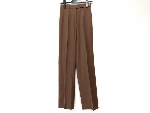 CELINE(セリーヌ) パンツ サイズ36 S レディース ブラウン