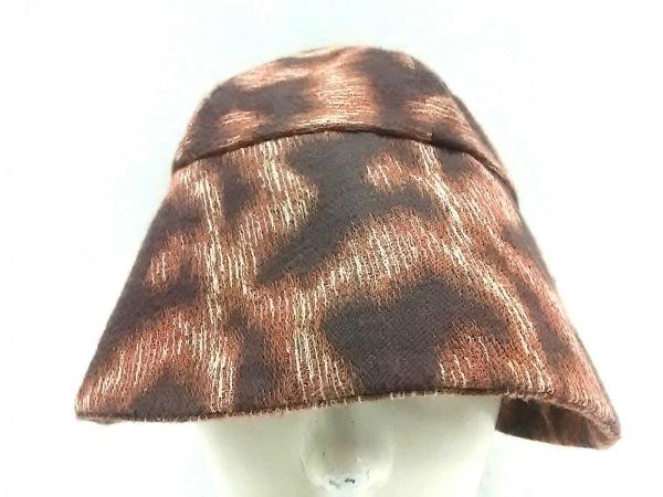 VivienneWestwood(ヴィヴィアンウエストウッド) 帽子 ダークブラウン×アイボリー