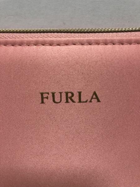 585ae2866ad8 FURLA(フルラ) 財布 ピンク ラウンドファスナー サテンの中古 | FURLA ...