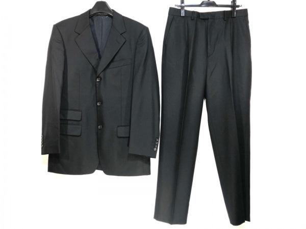 GUCCI(グッチ) シングルスーツ サイズ48 M メンズ 黒 肩パッド