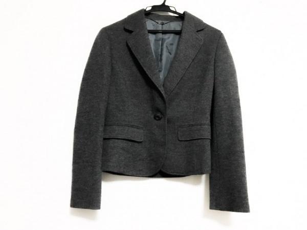 ef-de(エフデ) ジャケット サイズ9 M レディース美品  ダークグレー