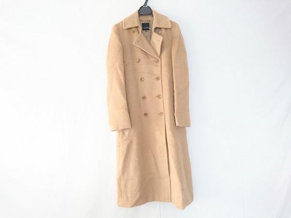 ユナイテッドアローズ コート サイズ40 M レディース ライトブラウン 冬物/ロング丈