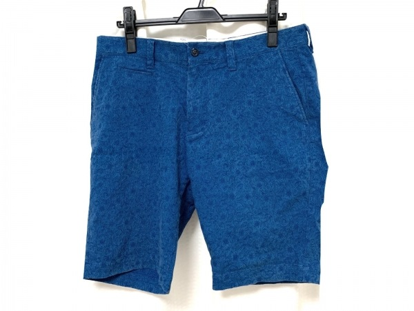 ESTNATION(エストネーション) ハーフパンツ サイズXL メンズ ブルー