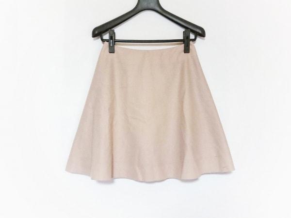 MSGM(エムエスジィエム) スカート サイズ40 M レディース ベージュ