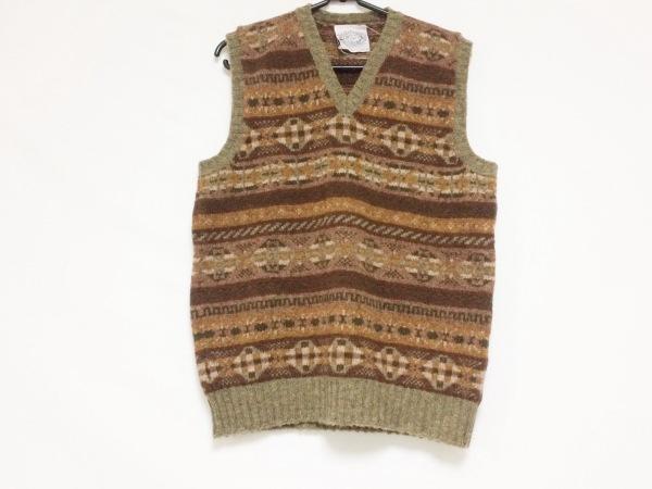 Jamieson's(ジャミーソンズ) ノースリーブセーター サイズ36 S メンズ美品