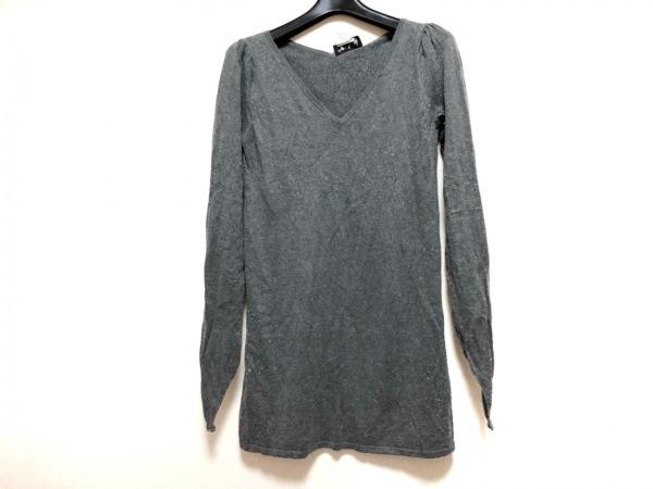 agnes b(アニエスベー) 長袖セーター サイズ1 S レディース グレー