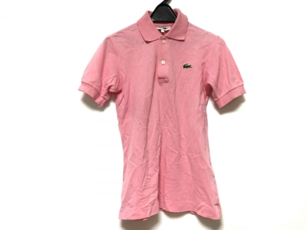 Lacoste(ラコステ) 半袖ポロシャツ レディース ピンク CHEMISE LACOSTE