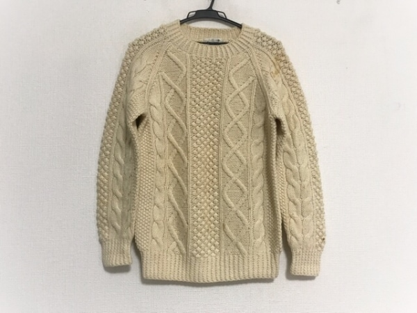 VAN(バン) 長袖セーター サイズM メンズ美品  アイボリー