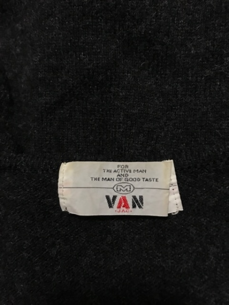 VAN(バン) ベスト サイズM メンズ 黒