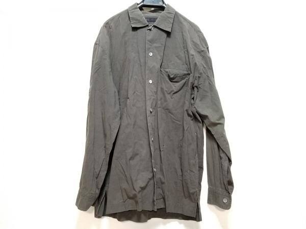 ISSEYMIYAKE(イッセイミヤケ) 長袖シャツ サイズ2 M メンズ ダークブラウン