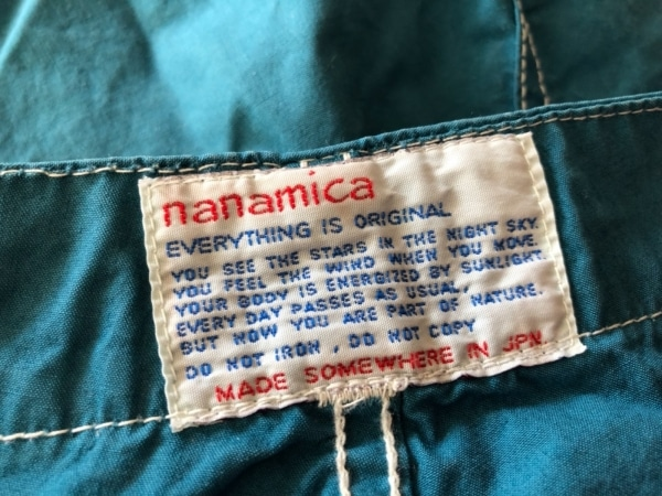 nanamica(ナナミカ) ショートパンツ サイズL メンズ ブルー