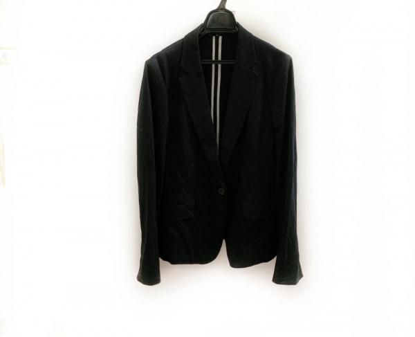 ICB(アイシービー) ジャケット サイズ44 L レディース美品  黒