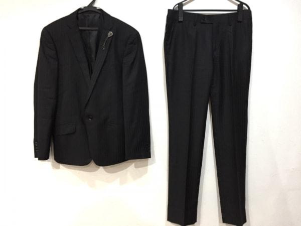 HIGH STREET(ハイストリート) シングルスーツ サイズL メンズ新品同様  黒