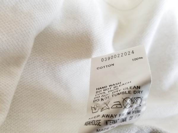 DESIGNWORKS(デザインワークス) 長袖シャツ サイズ49 メンズ アイボリー