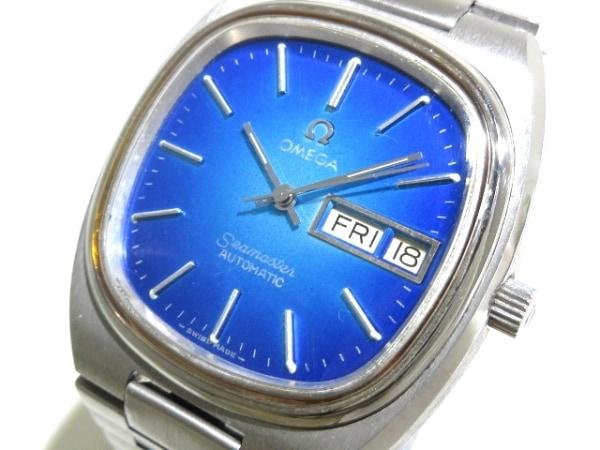 OMEGA(オメガ) 腕時計 シーマスター - メンズ ブルー