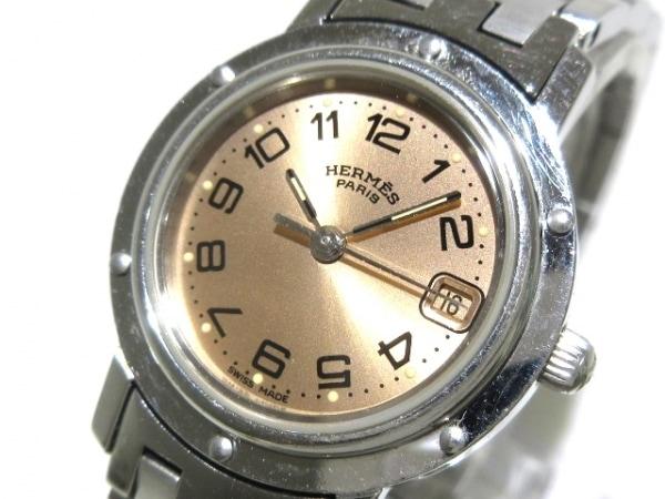 HERMES(エルメス) 腕時計 クリッパー CL4.210 レディース ゴールドブラウン