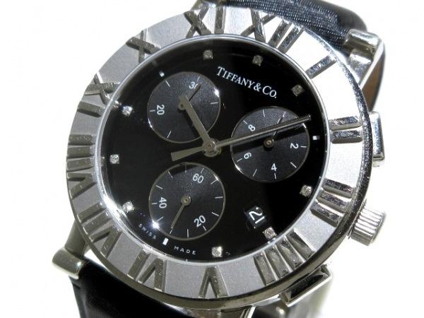 TIFFANY&Co.(ティファニー) 腕時計 アトラスラウンド - レディース 黒