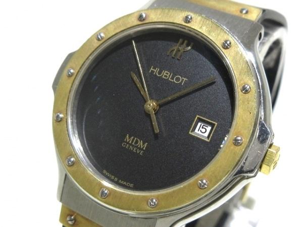 HUBLOT(ウブロ) 腕時計 クラシック MDM S 139 10 2 レディース 黒