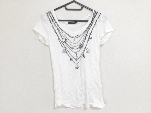 LOVELESS(ラブレス) 半袖Tシャツ サイズ34 S レディース 白×黒