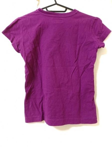 agnes b(アニエスベー) 半袖Tシャツ サイズ1 S レディース パープル
