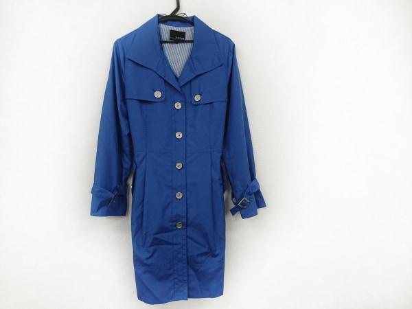 ヴァンドゥ オクトーブル コート サイズ44 L レディース美品  ブルー 春・秋物