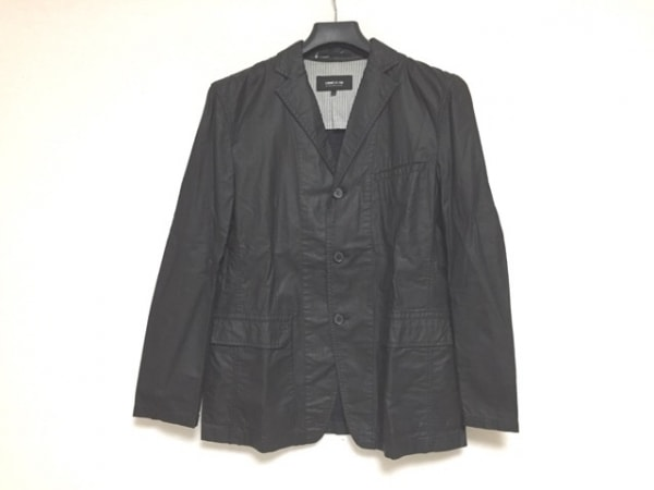 COMME CA ISM(コムサイズム) コート サイズL メンズ 黒 春・秋物
