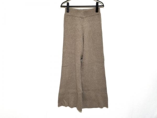 TODAYFUL(トゥデイフル) パンツ サイズ36 S レディース美品  ブラウン ニット