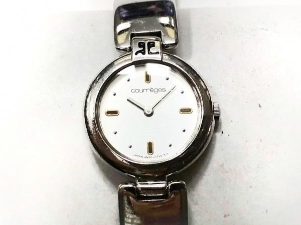 COURREGES(クレージュ) 腕時計 4N20-0420 レディース シルバー