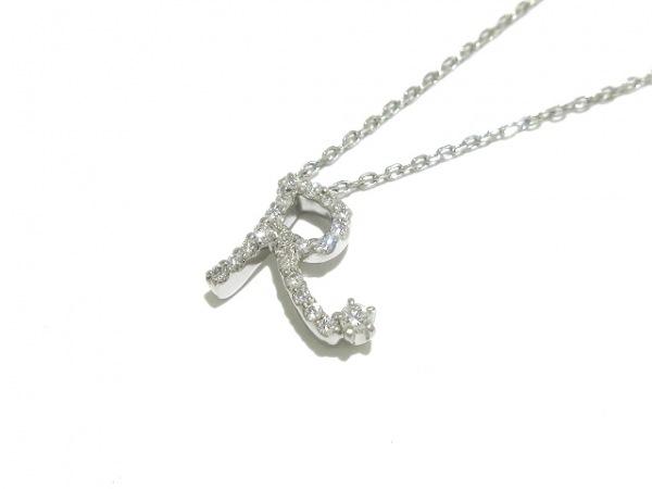 ROYAL ASSCHER(ロイヤルアッシャー) ネックレス美品  Pt850×Pt900×ダイヤモンド