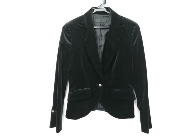 ICB(アイシービー) ジャケット サイズ9 M レディース美品  黒