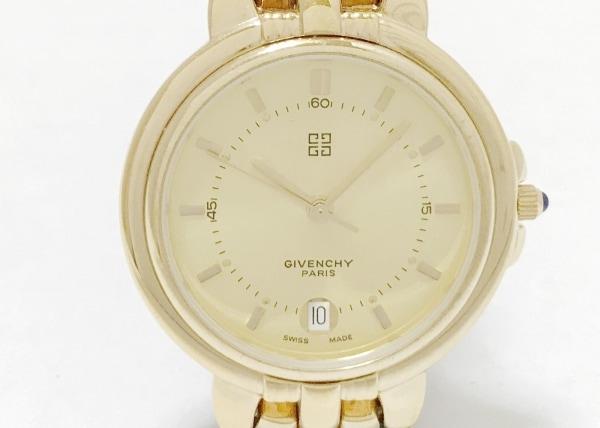 GIVENCHY(ジバンシー) 腕時計 - レディース 社外ベルト ゴールド