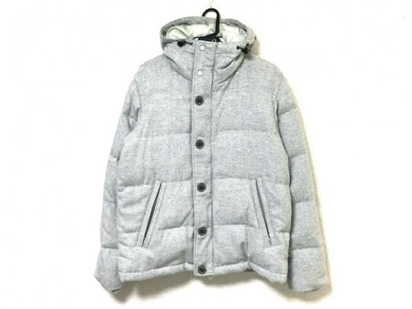 ティーケータケオキクチ ダウンコート サイズ3 L メンズ グレー 冬物