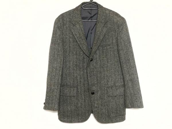 J.PRESS(ジェイプレス) ジャケット メンズ新品同様  黒×白