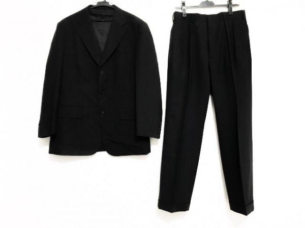 J.PRESS(ジェイプレス) シングルスーツ メンズ ダークグレー×グレー
