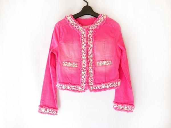 Emiria Wiz(エミリアウィズ) ジャケット サイズS レディース ピンク